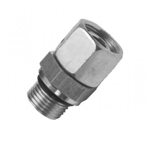 Соединитель прямой с уплотнительным кольцом E DIN 3852-легкая и тяжелая серия