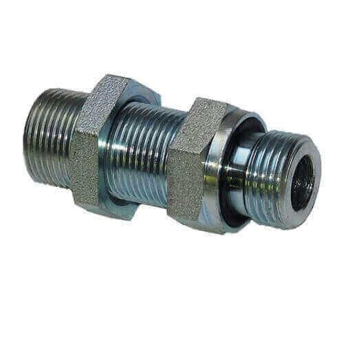 Переборочный коннектор с внешними резьбами