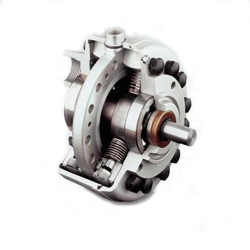 Одиночный насос типы R/RG с электродвигателем