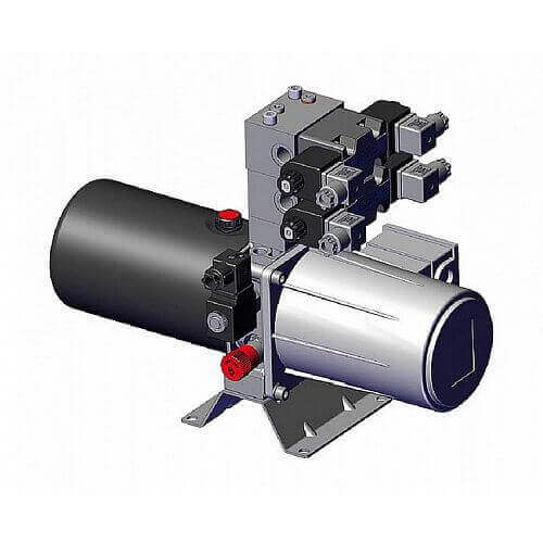 Силовой агрегатор серии FP с компактным электрогидравлическим блоком