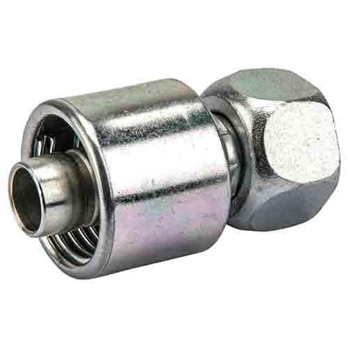Накидная гайка BSP с кольцевым уплотнителем, конус 60°