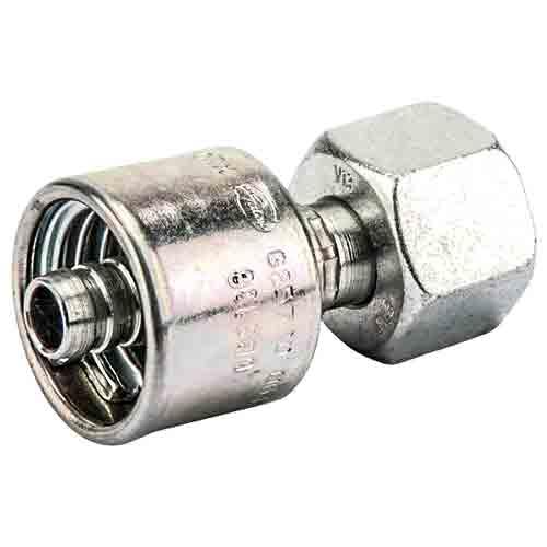 Метрическая гаечная резьба DKOS, конус 24° с уплотнительным кольцом, тяжелой серии