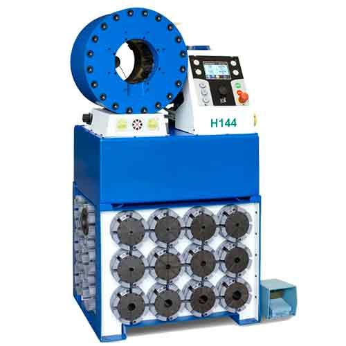 """Tubomatic H144 ES  для опрессовки РВД с максимальным внутренним диаметром 2 1/2"""" с 6-ью навивками и промышленных рукавов"""