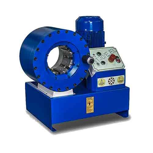 Станок для РВД TUBOMATIC H130 EL для опрессовки гидравлических рукавов до 2 (1SN, 2SN, и с навивкой типа 4SP, 4SH)