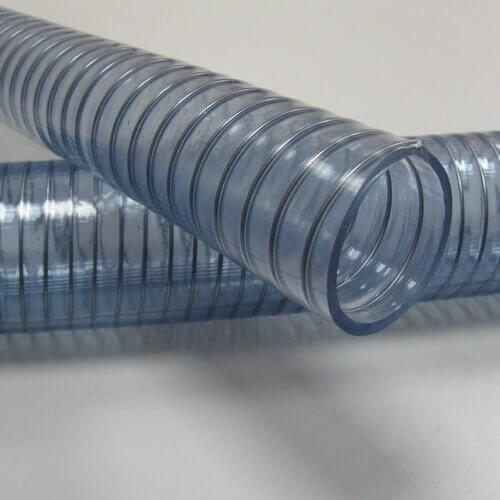 Напорно-всасывающий прозрачный шланг ПВХ Серия 501N