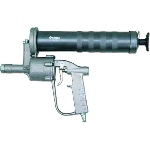 Шприцы для смазки пистолетного типа, пневматические с мощным усилием
