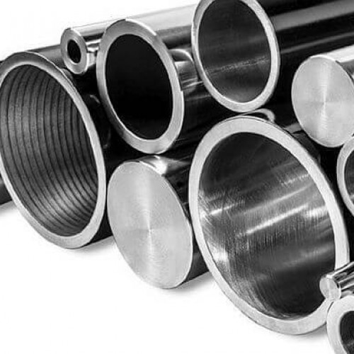 Хромированные трубы по внешней поверхности, роликом раскатанные и полированны внутренней части